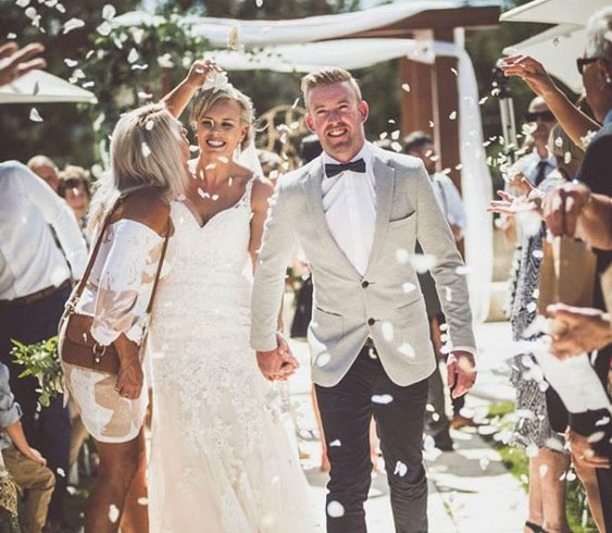 Wedding venue adelaide hills Jake & Elissa