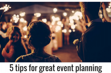event planning adelaide hills