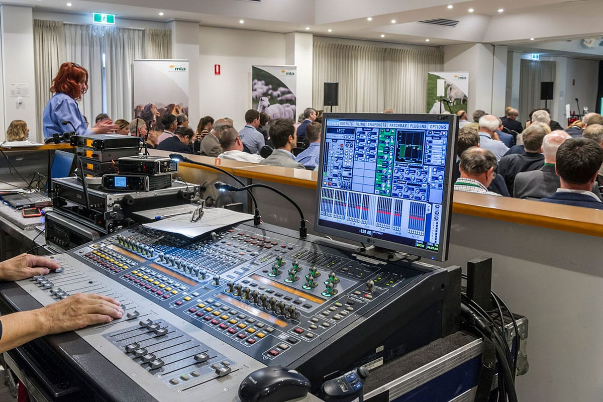 Audio-Visual-Services Adelaide Hills conference