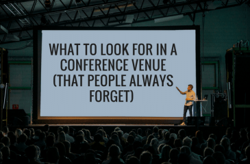 what to look for in a conference venue